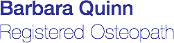 Barbara Quinn Registered Osteopath